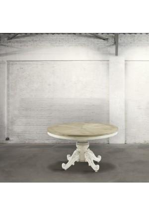 Tavolo rotondo provenzale Elique diametro 130