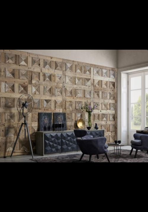 Pannello per parete in legno grezzo