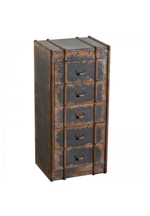 Cassettiera in legno Punch