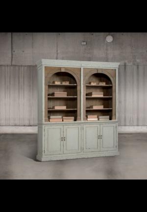 Libreria liberté in pino color grigio chiaro