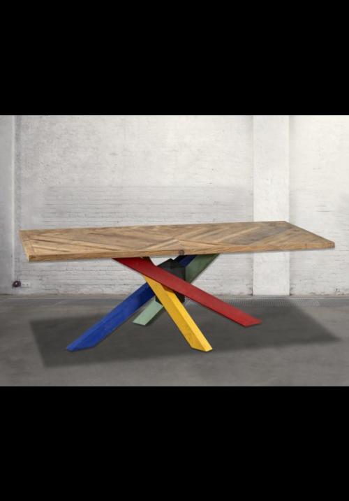 Tavolo fisso in legno Bridge